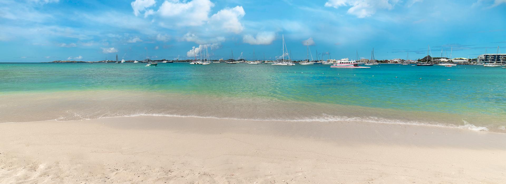 st maarten island beach