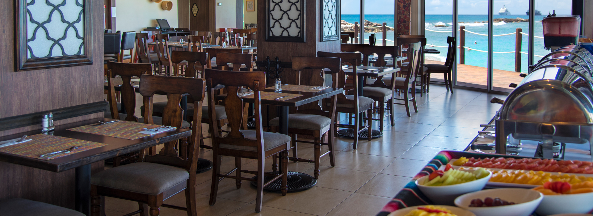 restaurantes familiares en resorts del caribe