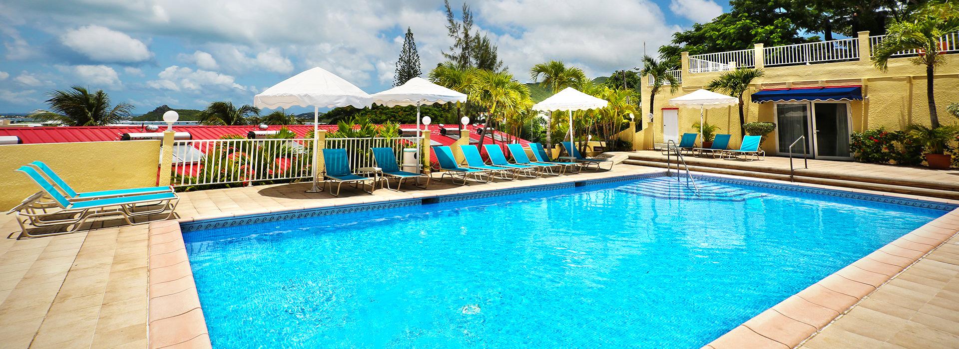 Simpson Bay Beach Resort & Marina pool