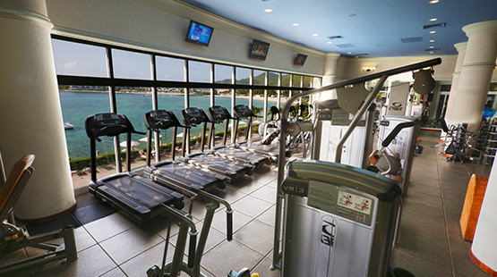 gimnasio de simpson bay beach resort and marina