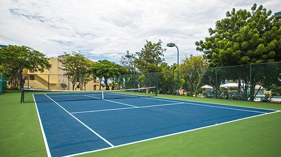 canchas de tenis en hotel de st maarten