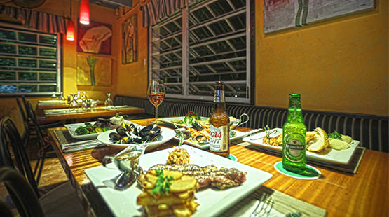 italian restaurant in cancun resort