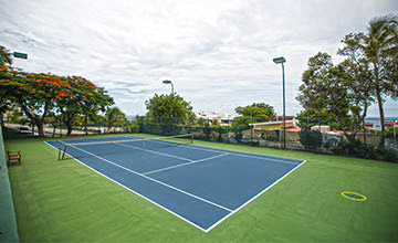 resort in Cancun with tennis courts