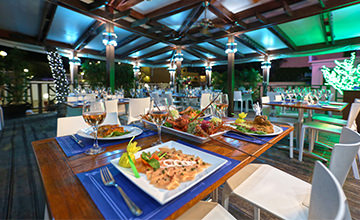 restaurante en la playa de Cancún