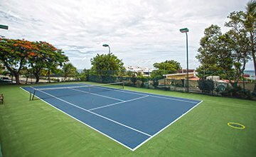 canchas de tenis en simpson bay beach resort